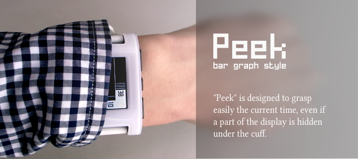 photo of Peek watchface