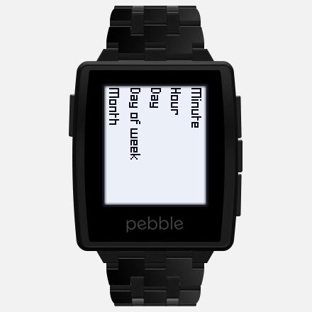 image of Peek watchface